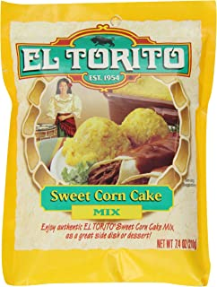 El Torito Sweet Corn Cake Mix, 7.4 Ounce Package
