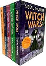 The Witch Wars Series Collection Sibeal Pounder 5 Books Set (Witch Wars, Witch Switch, Witch Watch, Witch Glitch, Witch Snitch)