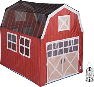 Pacific Play Tents 2020 Barnyard House Play Tent/Lantern, 48