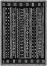 Pure Country Weavers | African Mud Cloth Design Woven Throw Blanket Cotton USA 70x50