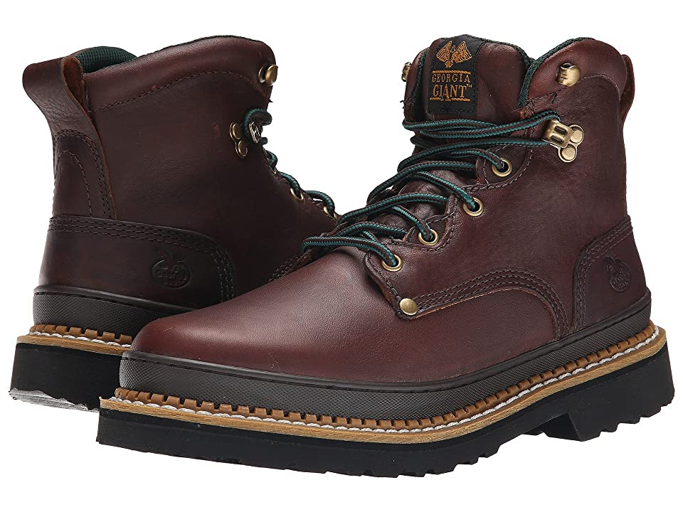 Georgia Boot 6 Georgia Giant Boot (Brown) Men