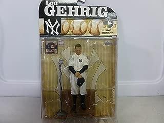 2009マクファーレンおもちゃCooperstownコレクションNY Lou Gehrig