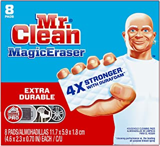 Mr Clean Magic Eraser Pads, 8 Count (Pack of 1)