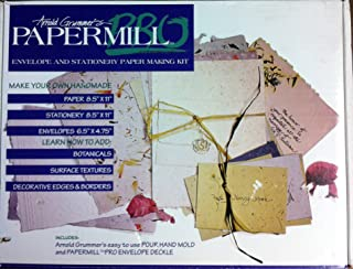 Arnold Grammer's Papermill Pro-Envelope and Stationary Papermaking Kit
