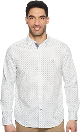 Nautica - Long Sleeve Multicolor Anchor Woven Shirt