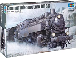 Trumpeter 1/35 WWII German BR86 Armored Steam Locomotive