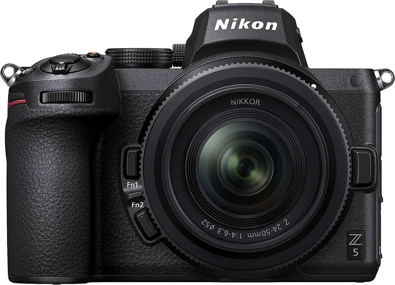 Nikon Z5 + 24-50 F/46.3 - Camara mirrorless con Pantalla de 3 Pulgadas, Negro