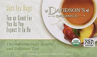 Davidson's Tea Hibiscus Flower, 100-Count Tea Bags