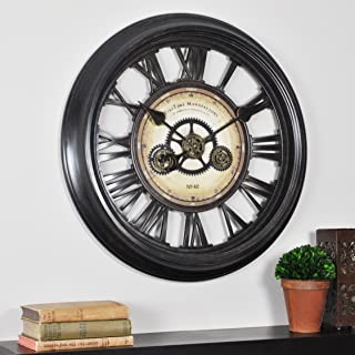 FirsTime 10032 FirsTime Gear Works Wall Clock