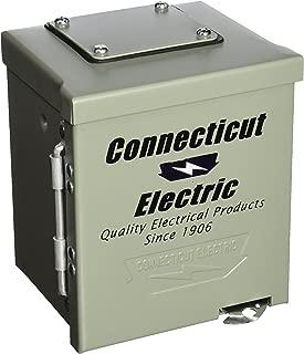 Connecticut Electric CESMPS54HR Connecticut Ps-54-Hr Weatherproof Power Outlet Panel, 120/240 V, 50 A, Nema 14-50R, 3R