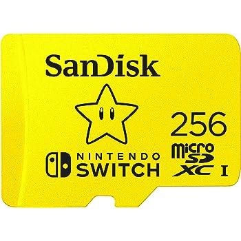 SanDisk 256GB microSDXC UHS-I-Memory-Card for Nintendo-Switch - SDSQXAO-256G-GNCZN