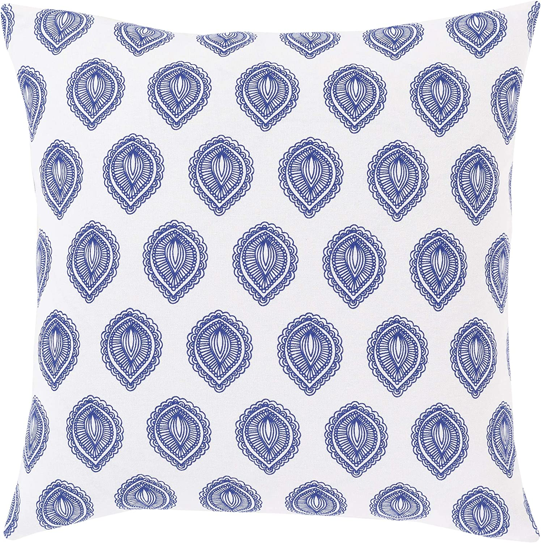 Artistic discount Weavers Blau Throw Pillow 18