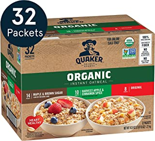 Best quaker organic instant oatmeal variety pack 32 packets Reviews