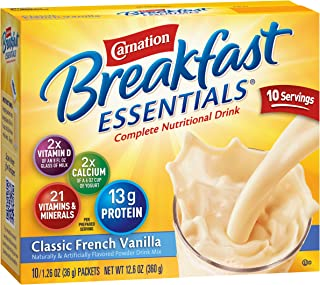 carnation breakfast essentials lactose free