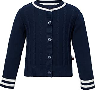 Baby Girls' New Core Lightweight Popcorn Stitch Cardigan Sweater
