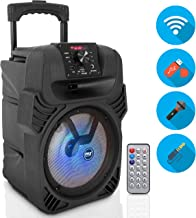 "400W Portable Bluetooth PA Loudspeaker – 8"" Subwoofer System, 4 Ohm/55-20kHz,.."