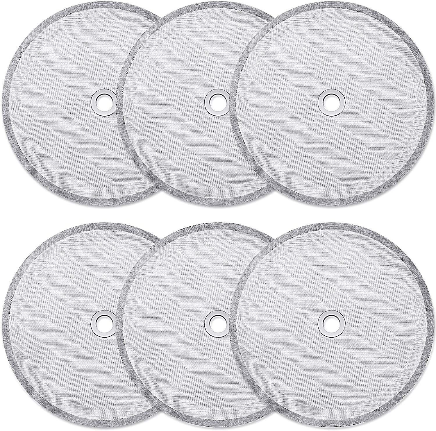 6 Pieces Fort Worth Mall French security Press Mesh Replacement Replaceme Filters
