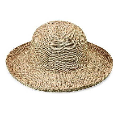642d8154bbc84 Wallaroo Hat Company Women's Victoria Sun Hat – Ultra-Lightweight,  Packable, Modern Style