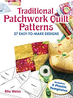 Best traditional patchwork quilt patterns with plastic templates Reviews