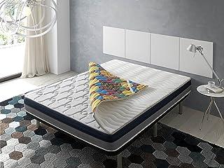 ECODE Topper Viscoelástico Renueva colchón Tourmalina 4D 160x200 - Disponible en Todas Las Medidas
