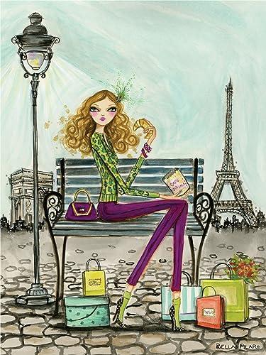 Andrews + Blaine Ltd Shop Paris - 300 Pc Puzzle by Andrews + Blaine