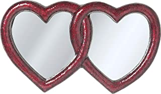 Kare Design Miroir Mosaik Double Heart 100x165 cm