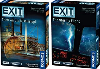Exit Bundle of 2: Theft on The Mississippi and The Stormy Flight