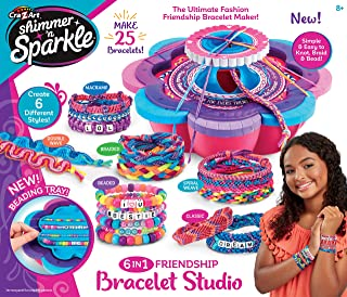 Shimmer & Sparkle Ultimate Friendship Bracelet Maker