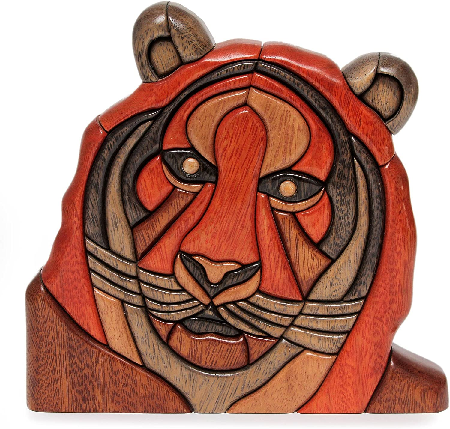 NOVICA Animal Themed Wood Sculpture All items free shipping Luxury goods 9.25