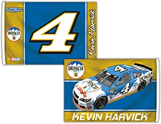 R and R Imports Kevin Harvick #4 3' x 5' Deluxe Two Sided Flag