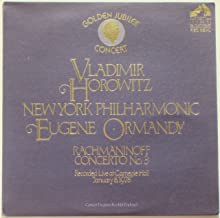 Horowitz / Rachmaninoff: Concerto No. 3 - Live At Carnegie Hall, 1978 (Golden Jubilee Concert)