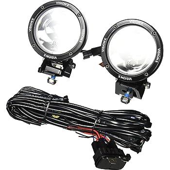 [ZHKZ_3066]  Amazon.com: Vision X Lighting 9888545 Cannon Black 6.7