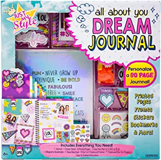 Just My Style Create Your Own Custom Dream Journal by Horizon Group USA, One Size, Multicolor