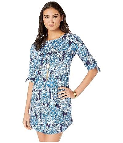 Lilly Pulitzer Preston Dress (Deep Indigo Snap To It) Women