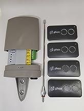 V2 Wally2-U Wally2-U-433 11G051 433,92 MHz Rolling Code 4 PHOX-emissies met 2 toetsen voor garagedeur (100% origineel)