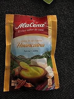 AlaCena Crema Huancaina Receta Casera Huancaina Sauce 400 Gr.