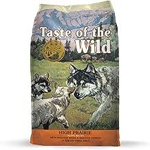 Taste of The Wild Grain Free Premium High Protein Dry Dog Food High Prairie Puppy - Roasted Venison & Bison