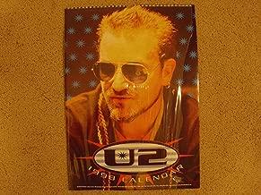 U2 1998 Oliver Books UK Calendar