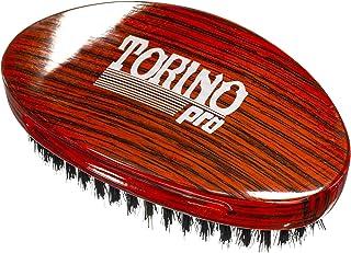 Torino Pro Wave Brush #700 By Brush King - Medium Hard Curve 360 Waves Palm Brush - Made with Reinforced Boar & Nylon Bris...