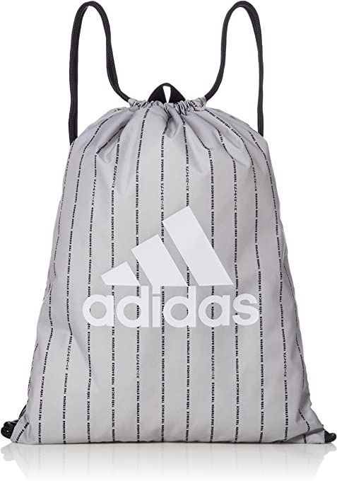 adidas Classic Core Gym Bag, Grey Two/Black/White, (CY7019)