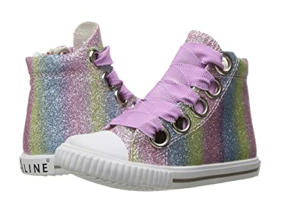 Amiana 6-A0920 (Toddler/Little Kid/Big Kid/Adult) (Rainbow Ombre Glitter) Girl
