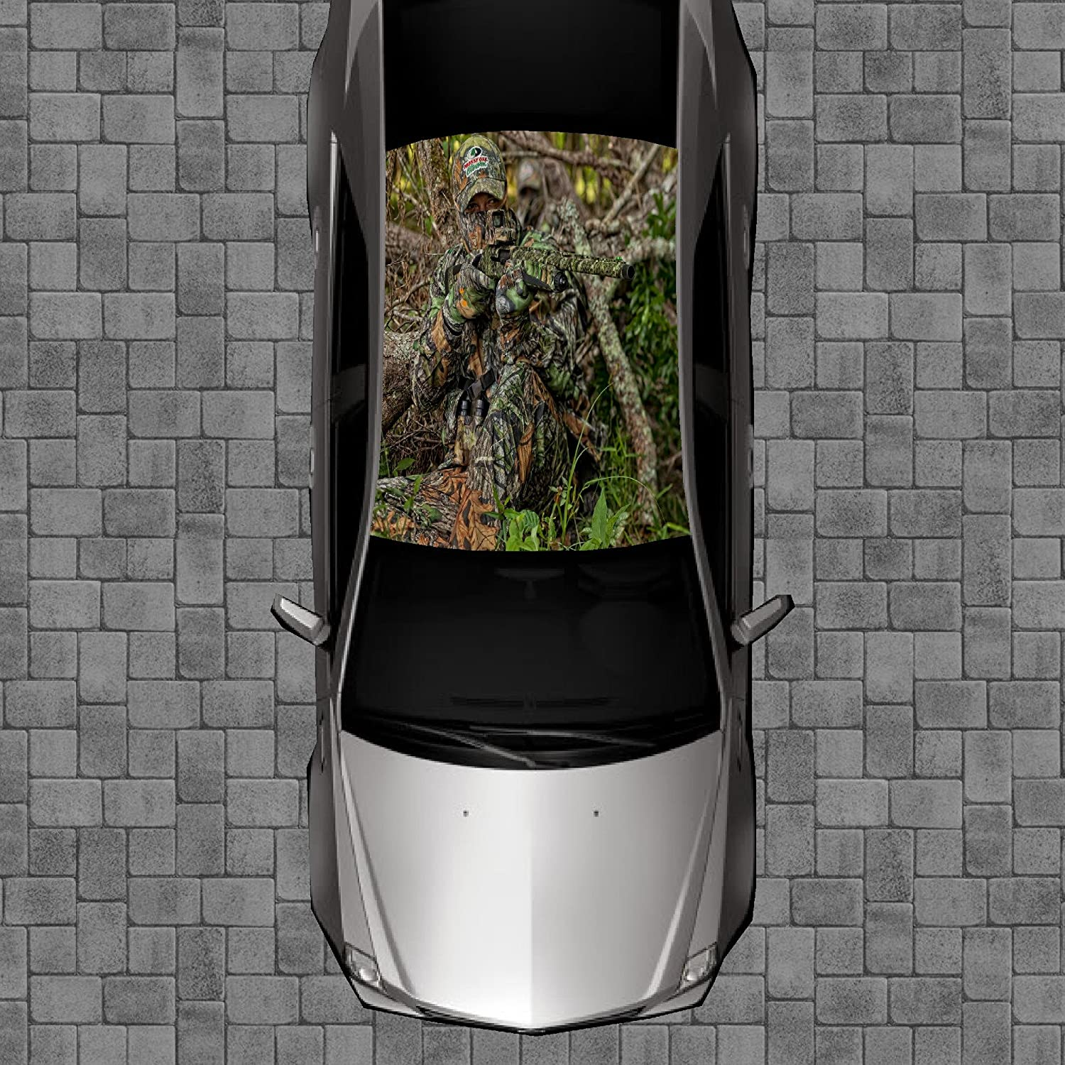 Sign Factory R83 CAMO Deer Hunting - Roof Wrap Decal Some reservation Decals Max 80% OFF