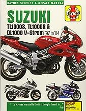Suzuki TL1000S, TL1000R & DL1000 V-Strom '97 to '04 (Haynes Service & Repair Manual)
