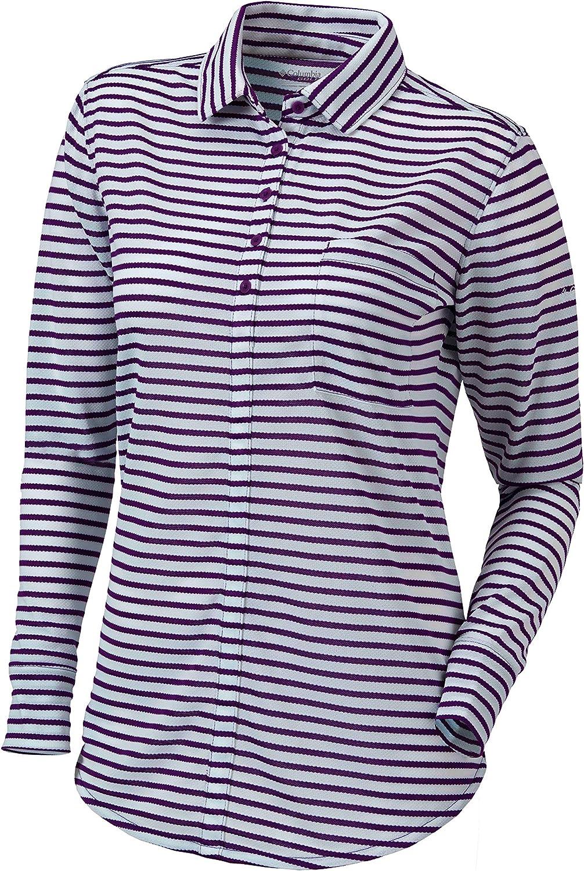 Columbia Golf Omni-Wick Women's Jewel favorite Shirt High quality new Long Sleeve