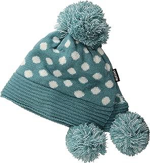 MUK LUKS Women's Pom Hat-Aqua