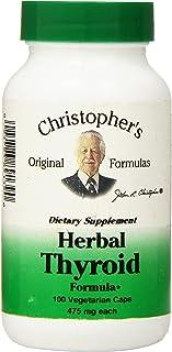 Dr Christopher's Formula Dr Christopher's Formula Herbal Thyroid, 100 Count