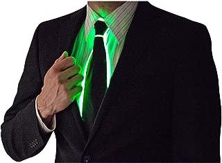 Light Up Neck Tie by Neon Nightlife | Men's Fiber Optic Novelty Lighted