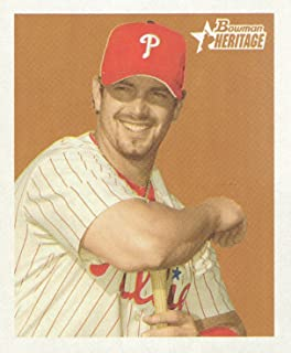 2006 Bowman Heritage Baseball Mini #197 Aaron Rowand Philadelphia Phillies
