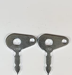 2 Ford New Holland-Massey Ferguson International Harvester-Case Tractor & Equipment Keys Part #T250