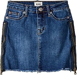 Hudson Kids Zipper Mini Skirt (Toddler/Little Kids)
